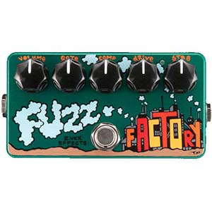 ZVEX Effects Fuzz Factory Hand Painted [FUZZ FACTORY]