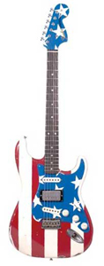 Wayne Kramer Signature Flag Stratocaster