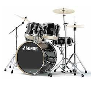 F2007 Stage 2 Series Shell Pack Drum Set - Black