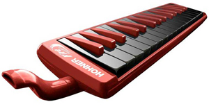 Hohner Fire Melodica - Red [C943274]