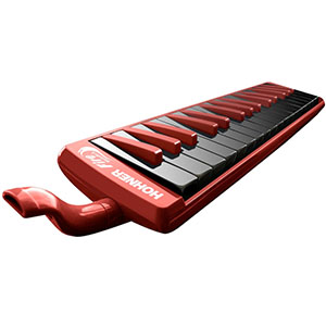Hohner Fire Melodica - Red