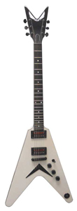Dean USA 1000 V - Metallic White [USA 1000 V MAHOGANY METALLIC WHITE]
