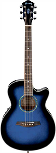 AEG10E - Transparent Blue Sunburst
