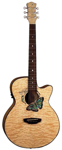 Luna Guitars Fauna Series Butterfly [FAU BTFLY]