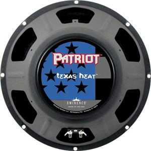 Eminence Patriot Series Texas Heat 16ohm [TEXAS HEAT]