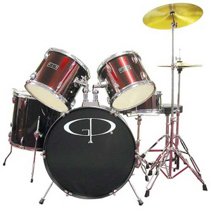 Groove Percussion GP100 Wine Red [GP100WR]