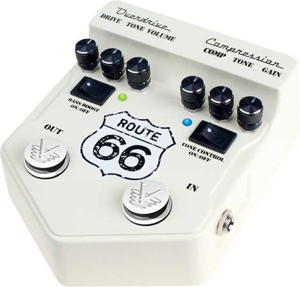 Visual Sound Route 66 Overdrive and Compression [V2RT66]