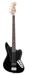 Vintage Modified Jaguar Bass Special HB - Black