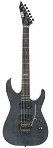 ESP LTD M-100 FM - See Thru Black [LTDM100FMSTB]