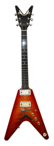 Dean USA V 77 Lost 100 - Cherry Burst X Stock [USA V 77 Lost 100]
