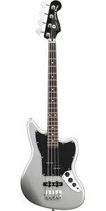 Vintage Modified Jaguar Bass Special SS (Short Scale)  - Silver