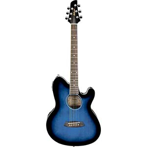 Talman TCY10E Transparent Blue Sunburst