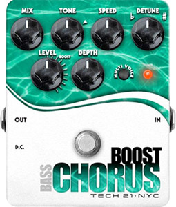 Tech21 Boost Chorus Bass [CHR-B]