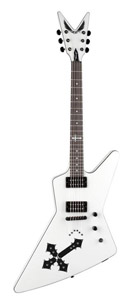 Dean Bret Michaels Z - Metallic White [BM Z MWH]