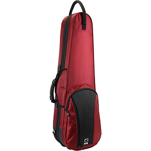 Kaces Polyfoam Full Size Violin Case - Red