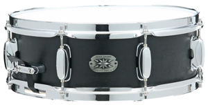 Tama Limited Birch/Basswood Snare Drum - Weathered Black