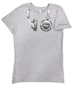 8th Street Headphones - Ladies T-Shirt