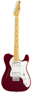 Fender American Vintage '72 Telecaster® Thinline - Candy Apple Red [0100032809]