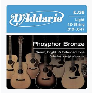 Daddario EJ38 12-String - Light