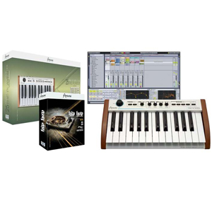 Arturia 25-Key Keyboard Analog Experience THE PLAYER + Hip Hop Producer Bundle