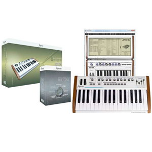 Arturia 25-Key Keyboard Analog Factory Experience + The One Bundle