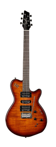 Godin XTSA -Light Burst Flame [028672]