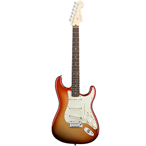 Fender American Deluxe Stratocaster - Sunset Metallic- Rosewood Neck
