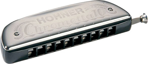 Hohner 253 Chrometta 10 - Key of C [M25301]