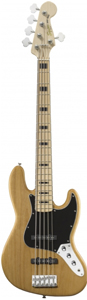 Squier Vintage Modified Jazz Bass® V Natural [0326760521]