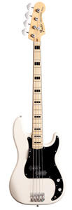 70s Precision Bass - Olympic White