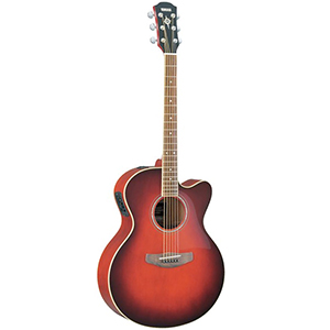 Yamaha CPX500II Dark Red Burst [CPX500IIDRB]