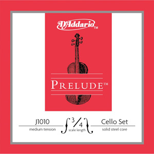 Daddario J1010 3/4 M Cello String Set
