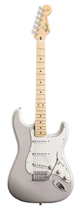 Fender Standard Stratocaster - White Chrome Pearl Maple Neck [0144602323]