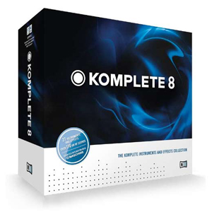 Native Instruments Komplete 8 EDU 5-Pack [21633]