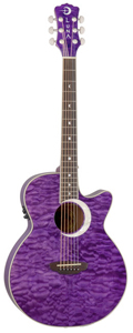 Luna Guitars Fauna Eclipse Trans Purple [FAU ECL TPP]