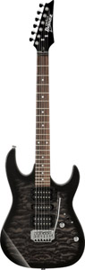 Ibanez GRX70QATKS Transparent Black Sunburst