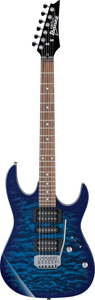 Ibanez GRX70QATBB Transparent Blue Burst