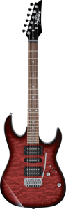 Ibanez GRX70QATRB Transparent Red Burst