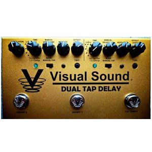 Visual Sound Dual Tap Tempo Delay Pedal [DTD]