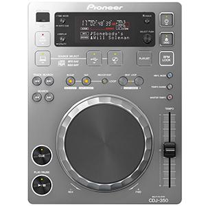 CDJ-350 Silver