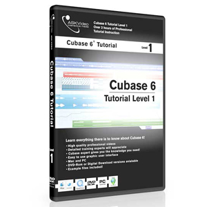 Ask Video Cubase 6 Tutorial DVD Level 1
