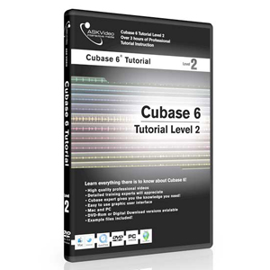 Ask Video Cubase 6 Tutorial DVD Level 2 [CUB6L2]