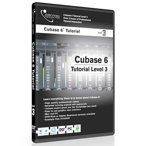 Ask Video Cubase 6 Tutorial DVD Level 3