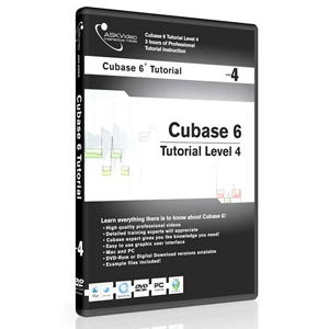 Ask Video Cubase 6 Tutorial DVD Level 4 [CUB6L5]