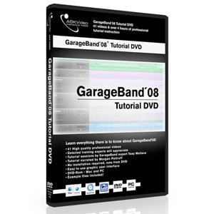 Ask Video GarageBand08 Tutorial DVD [GARAB08]