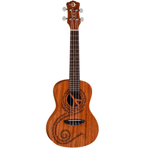 Luna Guitars Concert Ukulele - Peace Maluhia
