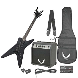 Dean ML XM Shredder Transparent Black [MLXM TBK PK]