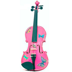 Butterfly Dream Fuchsia Violin Outfit 1/2