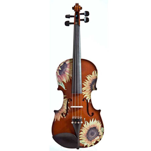 Rozannas Violins Sunflower Delight Standard Violin Outfit 1/2 [SSN5024]