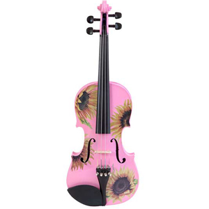 Rozannas Violins Sunflower Delight Pretty Pink Violin Outfit 1/4 [SSP5014]